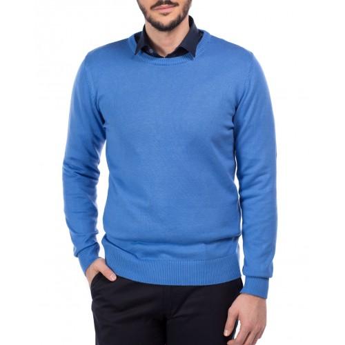 Pulover albastru deschis DON Amiri