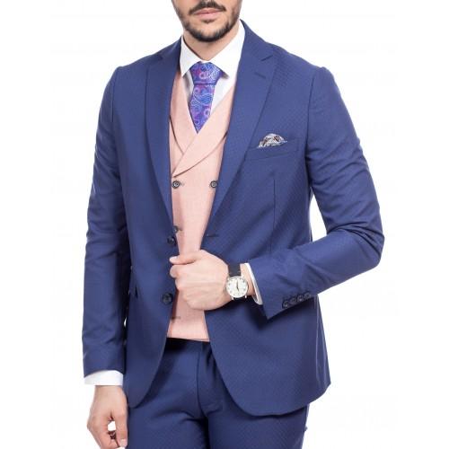 Sacou albastru inchis DON Emir