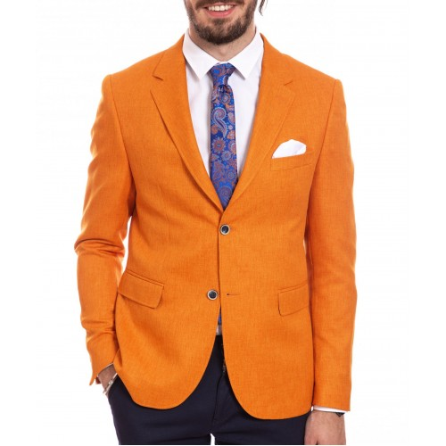 Sacou portocaliu DON Tropical Clasic
