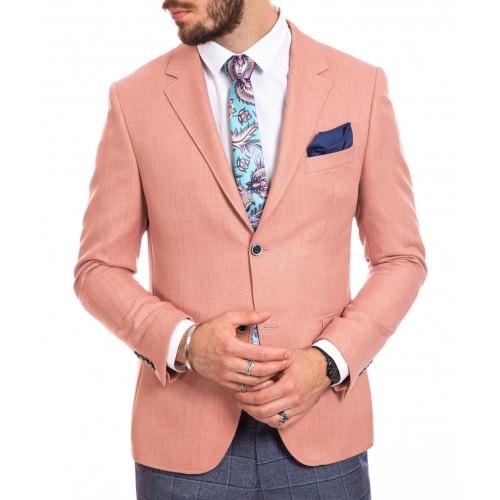 Sacou roz DON Tropical Clasic