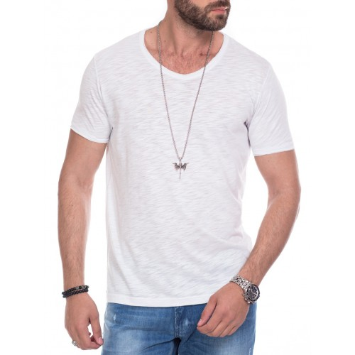 Tricou alb DON Keep It Simple