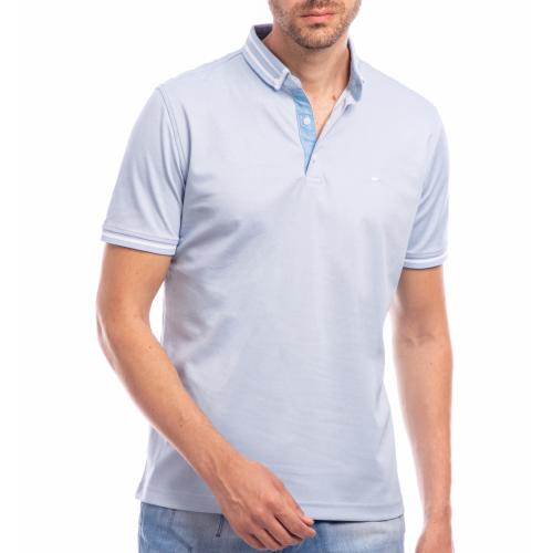 Tricou Polo bleu Richie