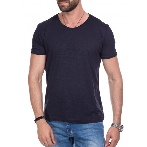 Tricou bleumarin DON Keep It Simple