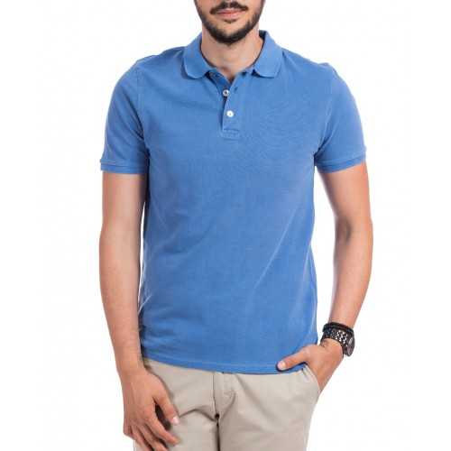 Tricou Polo albastru DON Summer Breeze
