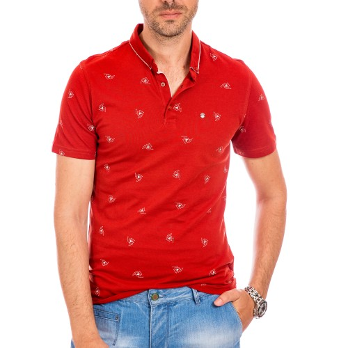 Tricou Polo rosu bordo Cael