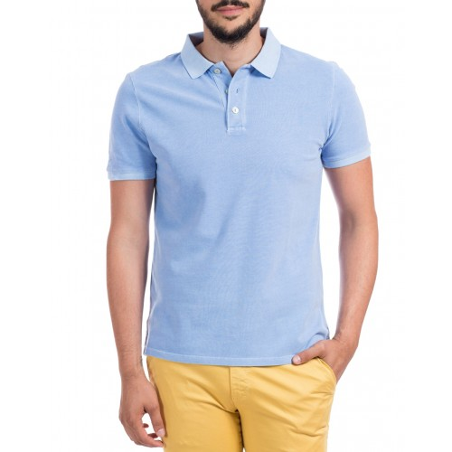 Tricou Polo bleu DON Summer Breeze
