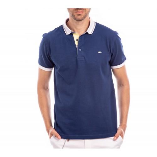 Tricou Polo bleumarin Alvin
