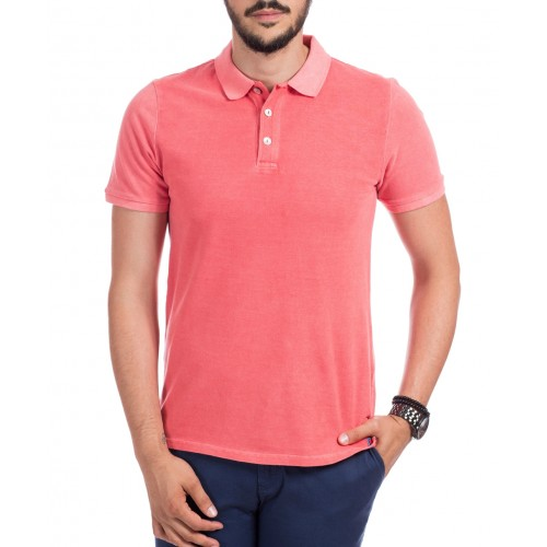 Tricou Polo corai DON Summer Breeze