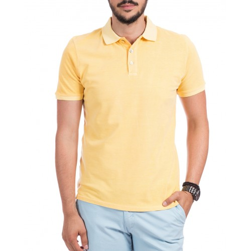 Tricou Polo galben DON Summer Breeze