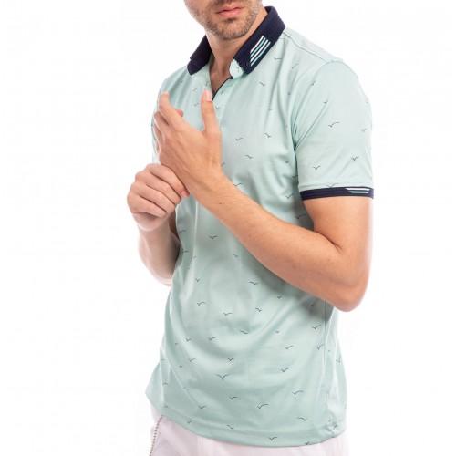 Tricou Polo verde menta Andreas