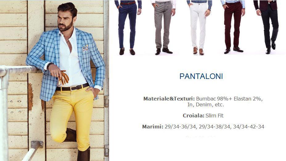 Pantaloni Barbati En Gros - Cumpara la preturi de producator